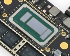 The new Coffee Lake-U mobility CPUs include the improved Iris Plus 655 iGPU. (Source: Golem.de)