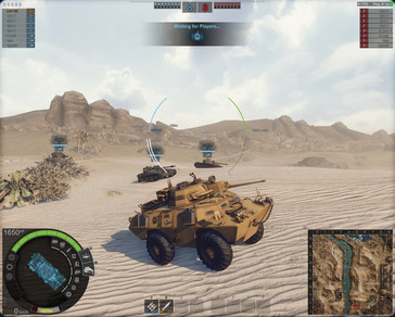 Armored Warfare - starting a low tier PvP battle (Source: Own)