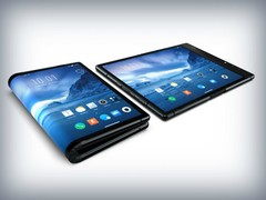 Royole (Rouyu) beat the big manufacturers to the punch with its FlexPai foldable phone. (Source: Trusted Reviews)
