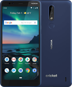 Cricket Wireless will offer the Nokia 3.1 Plus to its customers. (Source: HMD)