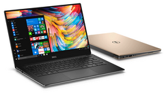 Dell XPS 13 with 8th gen Core i7-8550U CPU now shipping in US (Source: Dell)