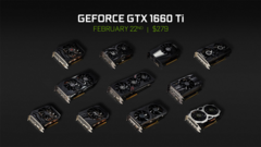 Gamers can select an Nvidia GeForce GTX 1660 Ti from a number of AIB partners. (Source: Nvidia)