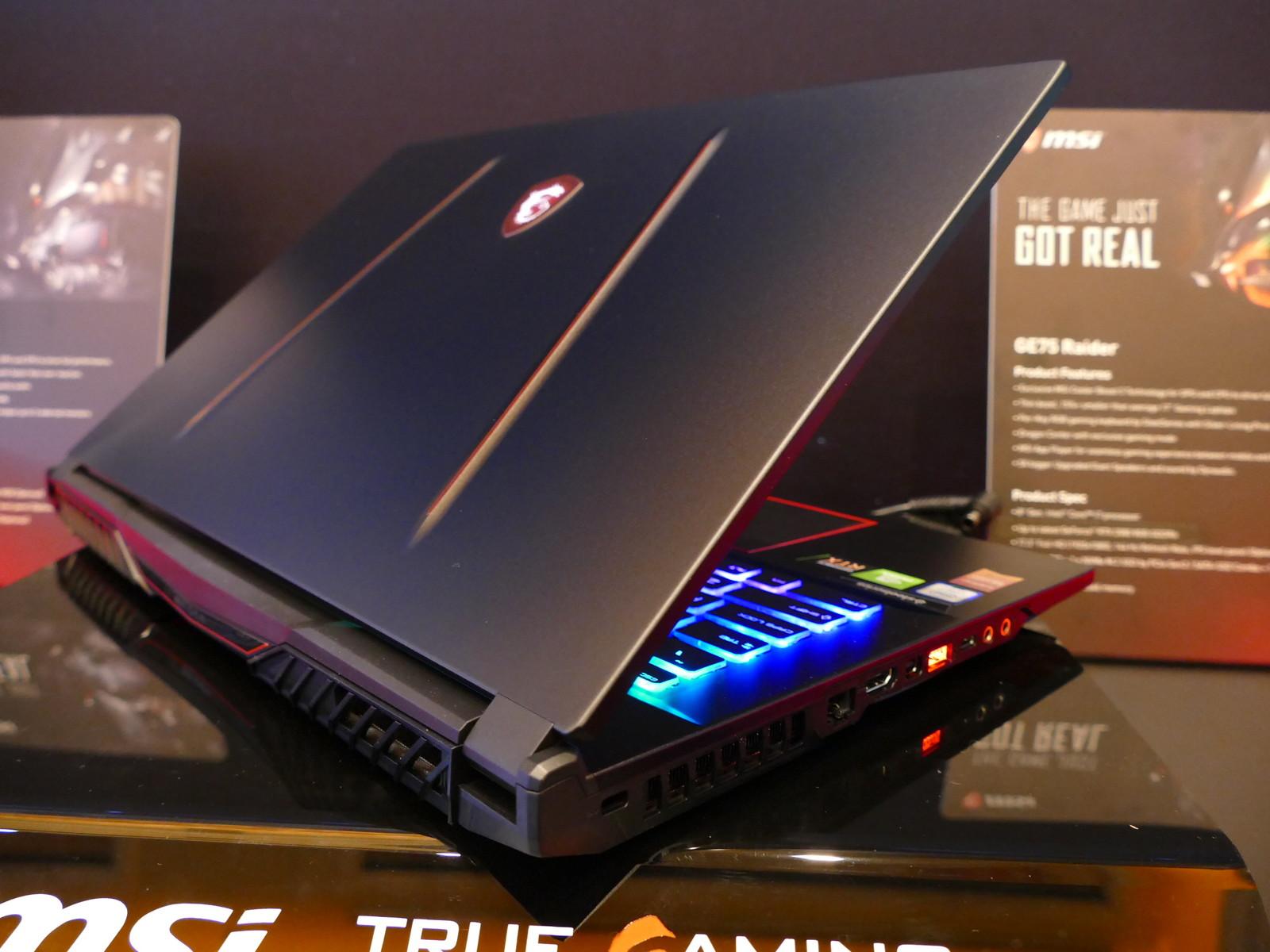 Msi S Latest Ge75 63 Raider Gaming Laptops Combine Unique