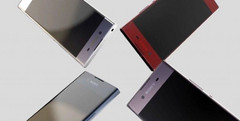 The Xperia XA successor makes the same stylistic choices that set it apart from the competition. (Source: ePrice)