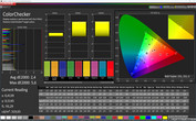 CalMAN ColorChecker sRGB (Normal)