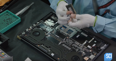 Science Channel shows how a Gigabyte Aero 15 laptop is made (Source: Science Channel)