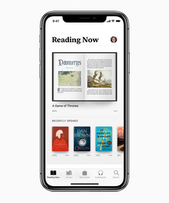 Apple Books is the re-branded iBooks.