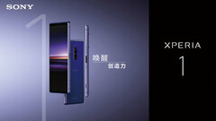 The Sony Xperia 1 is now also available in China. (Source: Weibo)