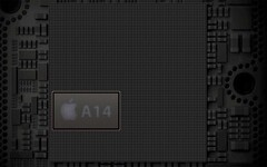 The A14 Bionic is powerful, but it is no 45 W x86 processor. (Image source: Apple)