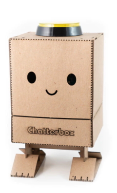 The Chatterbox has already reached nearly four times its funding goal. (Image source: Chatterbox)