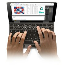Qwerty keyboard with fingerprint scanner (Source: One-Notebook)