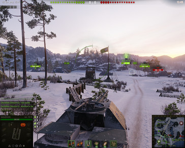World of Tanks 1.0 in-game 1