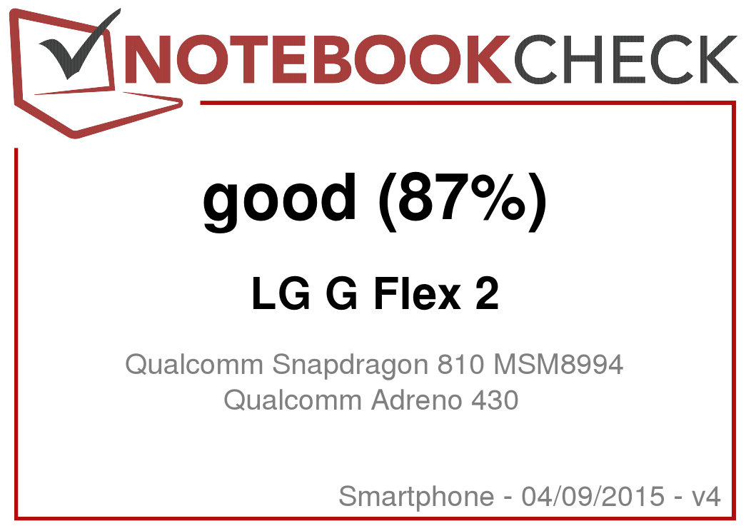 LG G Flex 2 Smartphone Review - NotebookCheck net Reviews