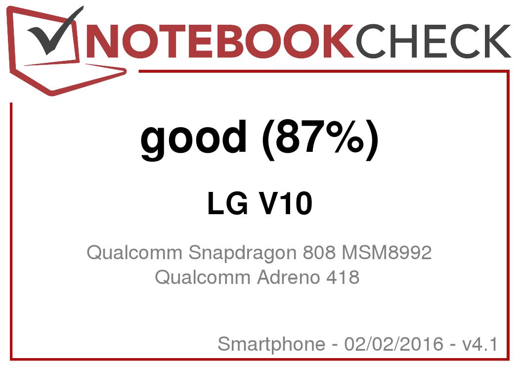 LG V10 Smartphone Review - NotebookCheck net Reviews