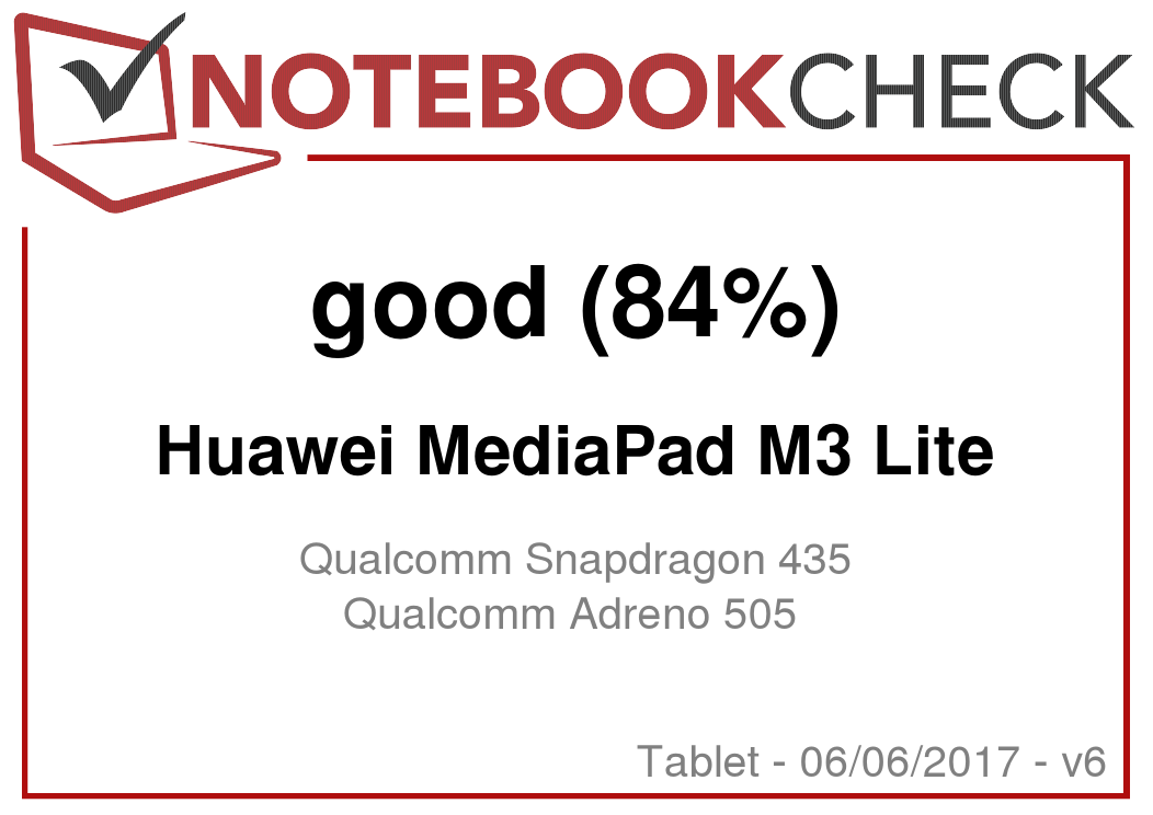 Huawei MediaPad M3 Lite Tablet Review - NotebookCheck net