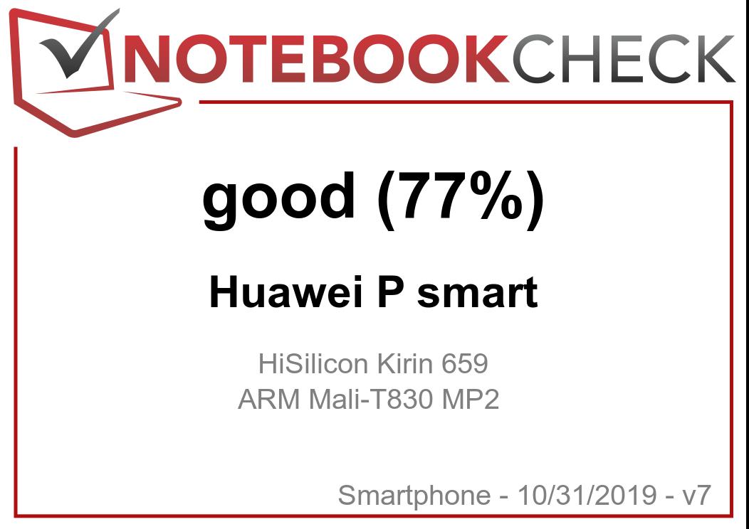 Huawei P Smart Smartphone Review - NotebookCheck net Reviews