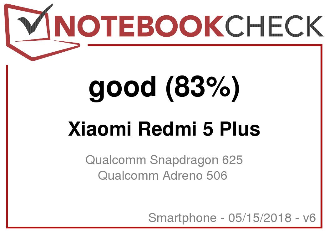 Xiaomi Redmi 5 Plus Smartphone Review - NotebookCheck net