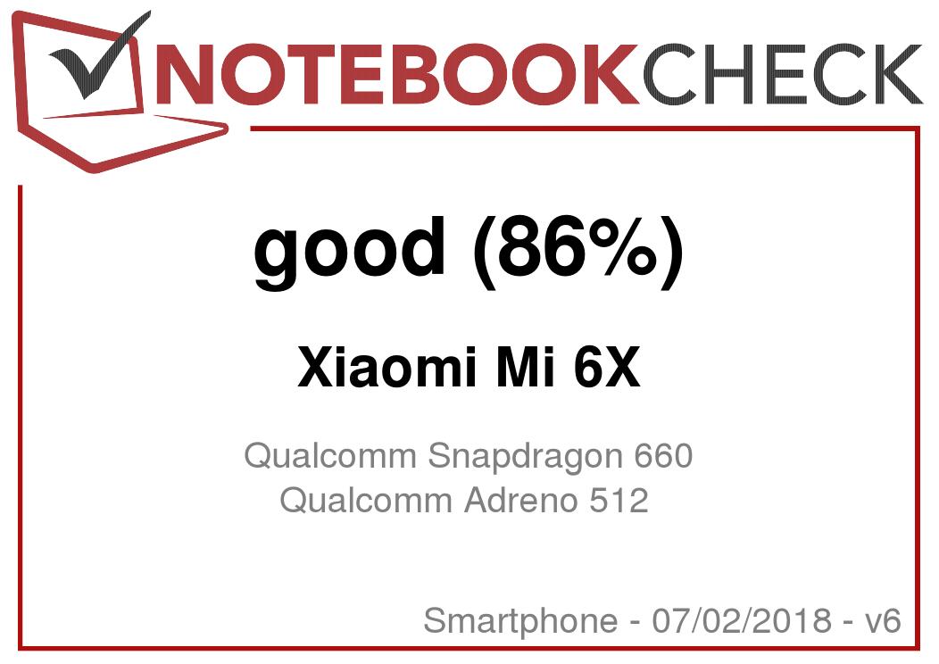 Xiaomi Mi 6X (Mi A2) Smartphone Review - NotebookCheck net