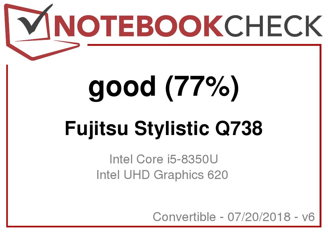 Fujitsu Stylistic Q738 (i5-8350U, UHD620) Convertible Review