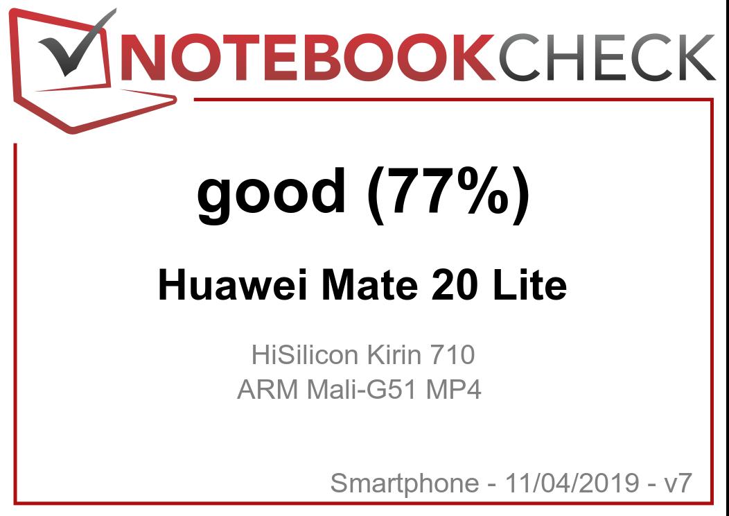 Huawei Mate 20 Lite Smartphone Review - NotebookCheck net Reviews