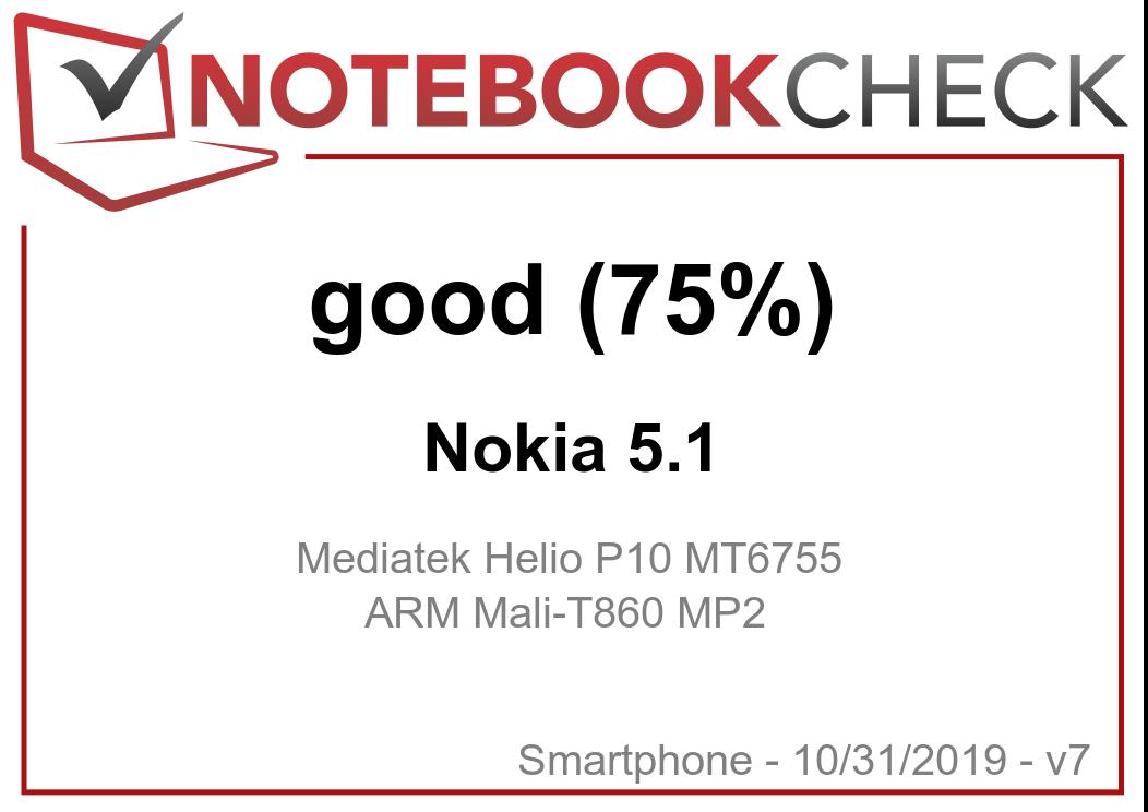 Nokia 5 1 Smartphone Review - NotebookCheck net Reviews