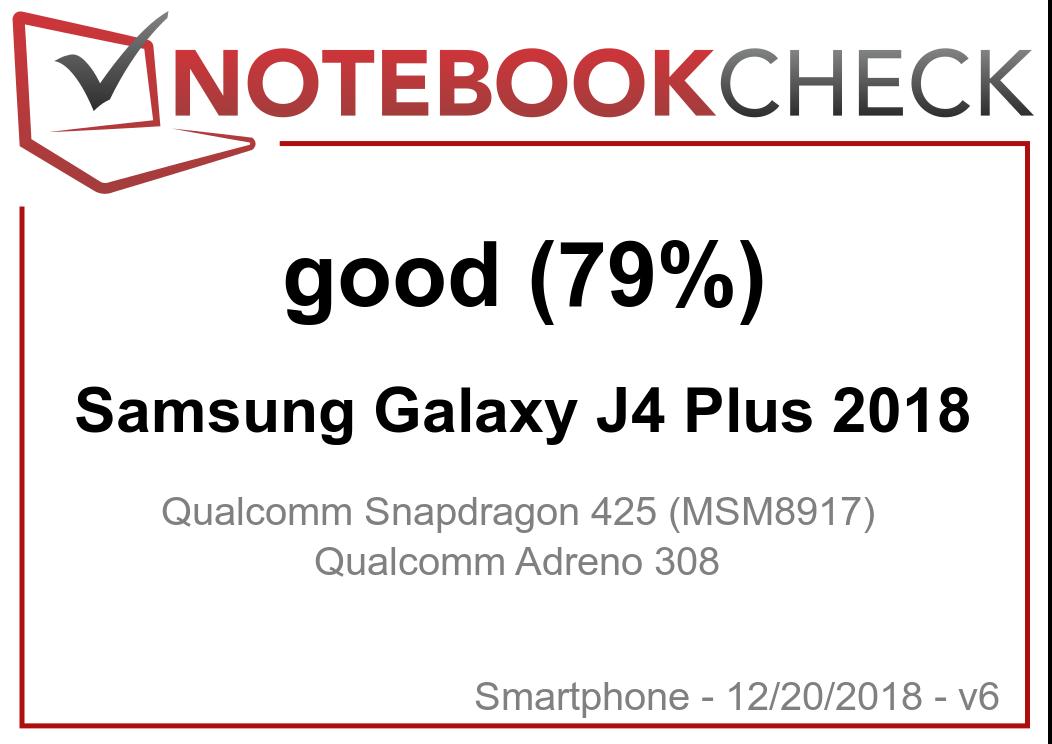 Samsung Galaxy J4 Plus (2018) Smartphone Review - NotebookCheck net