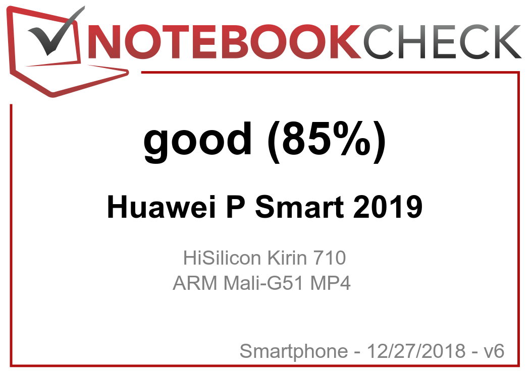 Huawei P Smart (2019) Smartphone Review - NotebookCheck net Reviews