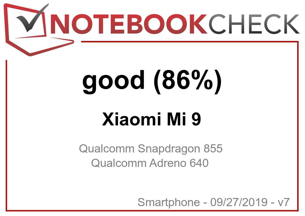 Xiaomi Mi 9 Smartphone Review - NotebookCheck net Reviews