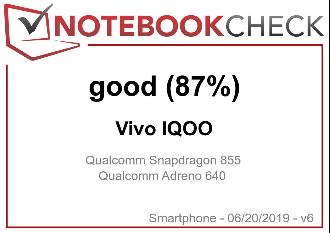 Vivo IQOO Smartphone Review - NotebookCheck net Reviews