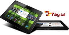Blackberry PlayBook will come preloaded with 7Digital music store