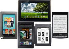 Tablets and eBook owners near-doubled post-holiday