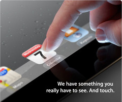 Apple calls for a press event on March 7th, iPad 3?