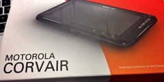 The 6-inch Motorola Corsair tablet also controls your home devices