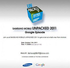 Icecream Sandwich might be announced during upcoming Samsung CTIA