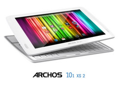Archos 101xs2 tablet featuring magnetic keyboard
