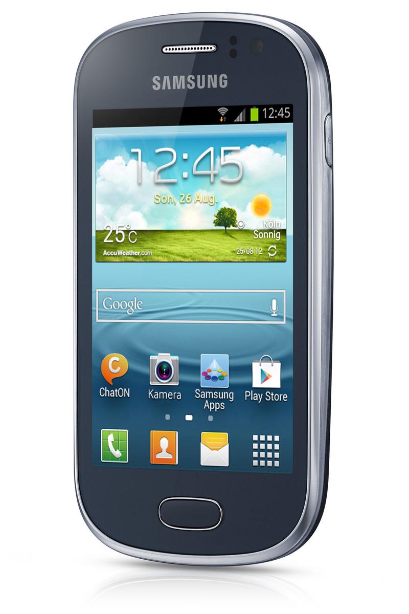 Samsung Galaxy Fame GT-S6810P - Notebookcheck.net External
