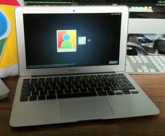 Chrome OS hacker ports Chrome OS into a Macbook Air