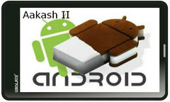 Aakash 2 to come with ICS pre-loaded?