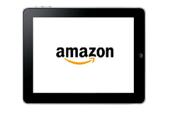 """Stay tuned"" says Amazon CEO when asked about possible tablet"