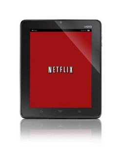 Vizio tablet firmware update brings Netflix support