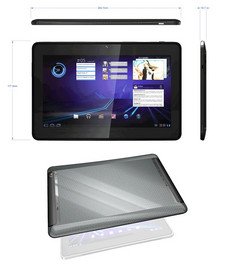 Pioneer Computers introduced the Tegra-based Honeycomb DreamBook N10 Tablet