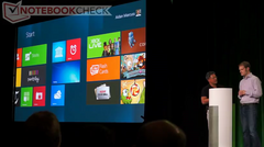 Video: Windows 8 on Tegra 3 onstage demonstration