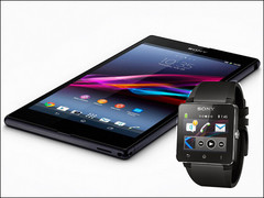 6.4-inch Xperia Ultra phablet and SmartWatch 2