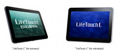 NEC debuts the LifeTouch L tablet