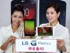 LG launches the G Pad 8.3 Android tablet
