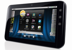 Dell Streak 7 has concealed phone features?