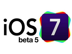 Apple released ioS 7 Beta 5 to developers