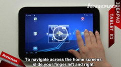 Lenovo posts IdeaPad K1 tablet video walkthrough