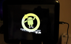 Infant version of Cyanogen Mod ported to TouchPad