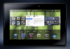 Further details about the BlackBerry PlayBook tablet surface